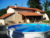 Carp Fishing Lakes With Holiday Lodge Swimming Pool In France
