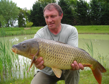 Carp fishing holiday in france 14 lb common carp for What does carp mean