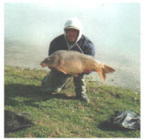 40lb-common-carp-caught-at-Smallwater-lake-france